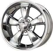 BG Rod Works Rodder Wheels - Chrome - 17