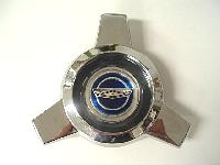 1965-66 Ford Mustang Wire Wheel Cover Spinner With Blue Emblem