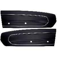 1967-1968 Ford Mustang TMI Standard Door Panels - Single Color
