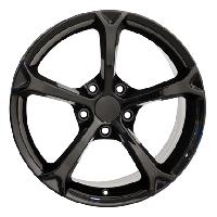 Grand Sport Wheel Black 17x8.5 - C4, C5, C6 Corvette
