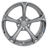 Grand Sport Wheel Chrome 17x8.5