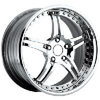 WCC Forged 946 Wheel Package Chrome 18x9.5/19x11 1997-2004 C5 & Z06