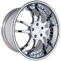 WCC 947 EXT Forged Wheel Package Chrome 19x9.5/20x11 2005-2013 C6 Corvette