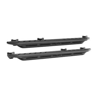 Westin/Snyper 07-17 Jeep Wrangler Triple Tube Rock Rail Steps - Textured Black