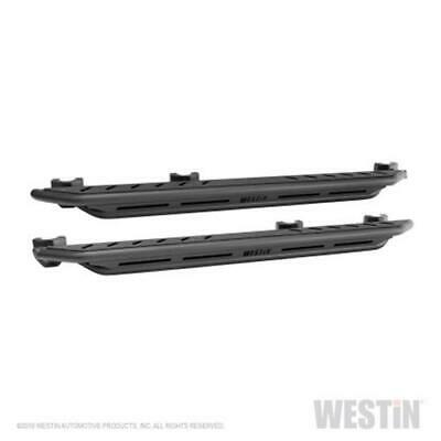 Westin/Snyper Jeep Wrangler 4DR Triple Tube Rock Rail Steps - Textured Black
