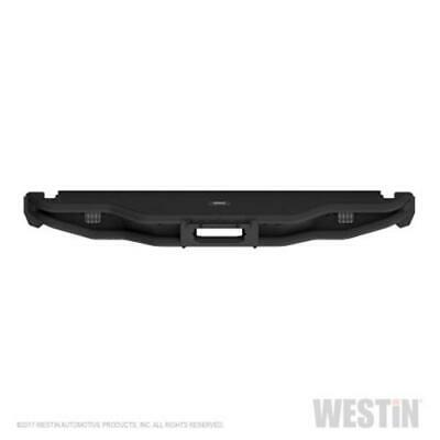Westin 2015-2018 Ford F-150 Outlaw Rear Bumper - Textured Black