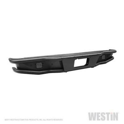Westin 2016-2018 Chevrolet Silverado 1500 Outlaw Rear Bumper - Textured Black