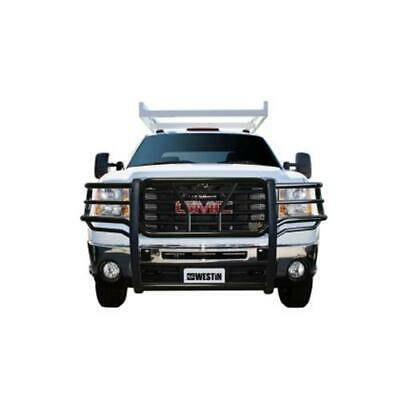 Westin 2007-2010 Chevrolet Silverado 25/3500HD HDX Grille Guard - Black