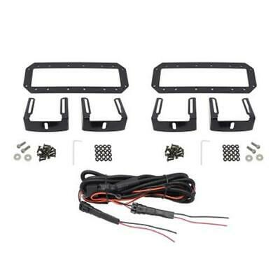 Westin HDX Flush Mount B-FORCE LED Light Kit (Set of 2) w/wiring harness - Black