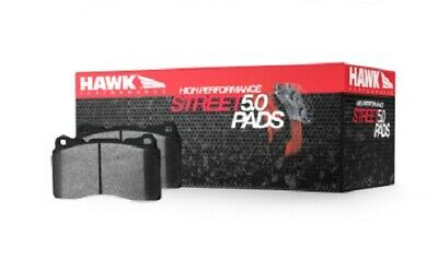 Hawk Corvette Grand Sport (One-Piece Pads) High Perf. Street 5.0 Front Brake Pad