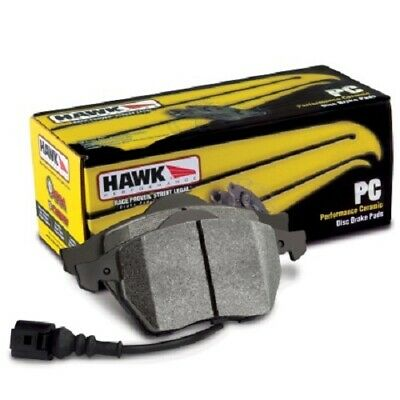 Hawk Chevy Corvette (OEM Pad Design) Rear Performance Ceramic Sreet Brake Pads