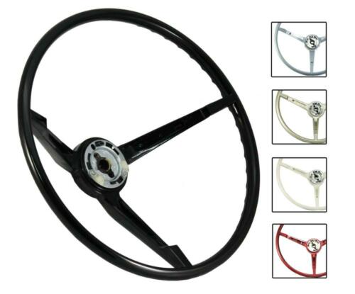 1967 Ford Mustang OE Series Reproduction Steering Wheel ST3035 - BLACK