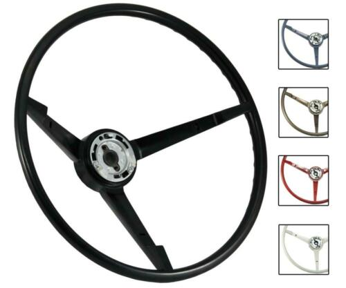 1964 Mustang OE Series Steering Wheel with Generator - Part# ST3033 - BLACK