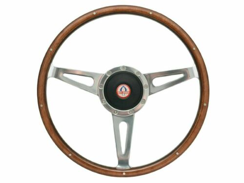 1964 - 1967 Mustang Shelby Style Steering Wheel Kit w/Hub & GT-350 Cobra Emblem