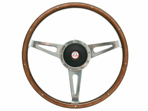 1964 - 1967 Mustang Shelby Style Steering Wheel Kit w/Hub & Ford Cobra Emblem