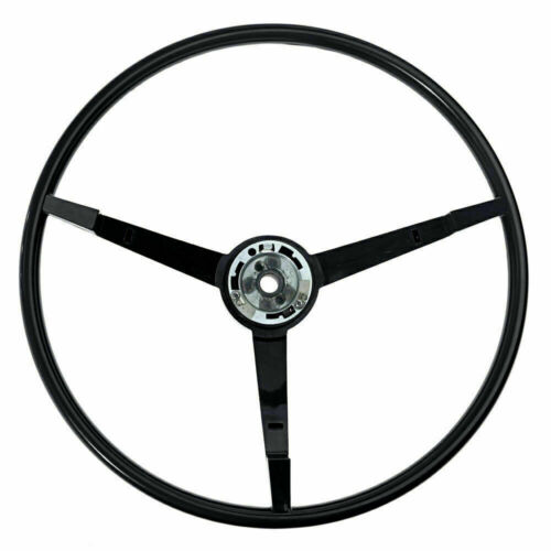 1965-1966 Mustang OE Series Steering Wheel Black with Alternator - Part# ST3034