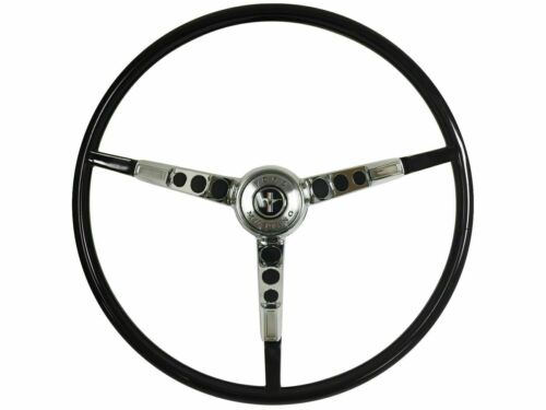 1964 1/2 Ford Mustang OE Series Steering Wheel Kit with Generator Only - BLACK