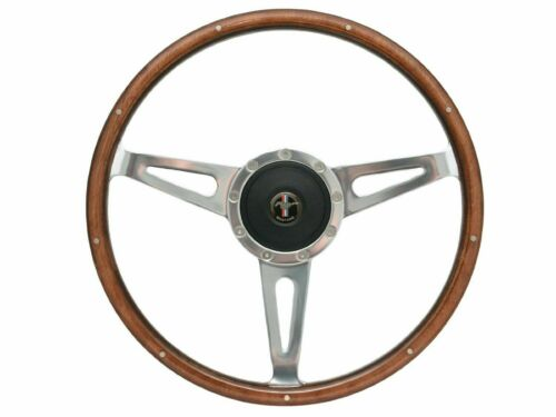 1964-1967 Mustang Shelby Style Steering Wheel Kit w/Hub & Mustang Pony Emblem
