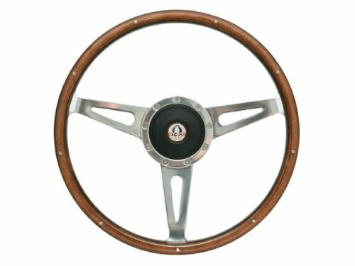 1964 - 1967 Mustang Shelby Style Steering Wheel Kit w/Hub & GT-500 Cobra Emblem
