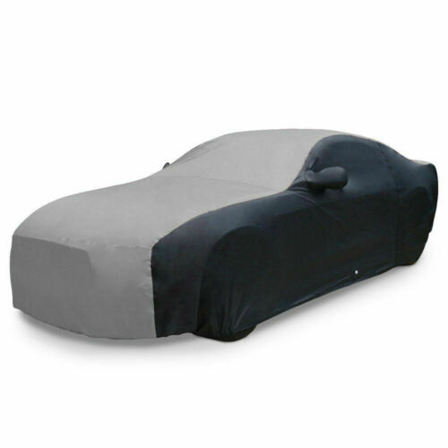 2005-2014 Ford Mustang Ultraguard Car Cover - Two Tone Grey & Black - Free Ship!