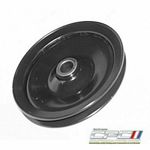 1967-1969 Ford Mustang Power Steering Pulley, Steel, W/O Air, 289/302 - BLACK