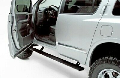 AMP Research  PowerStep - Black - For 2004-2015 Nissan Titan Crew/King Cabs