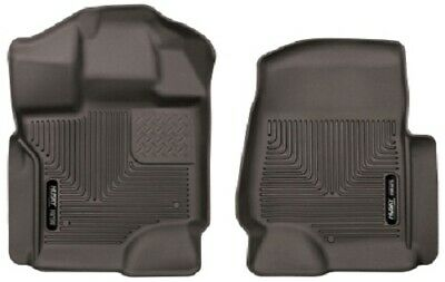 Husky Liners Ford Super Duty Crew Cab X-Act Contour Cocoa Front Floor Liners