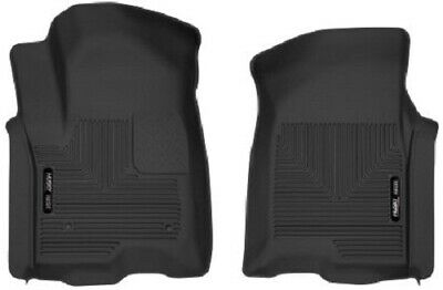 Husky Liners  Chevy Silverado  Crew Cab X-Act Contour Front Black Floor Liners