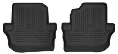 Husky Liners Jeep Wrangler (Door) X-Act Contour Black 2nd Seat Black Floor Liner