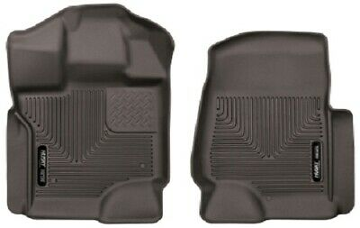 Husky Liners Ford F-150 SuperCrew Cab X-Act Contour Cocoa Front Floor Liners