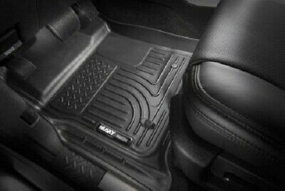 Husky Liners 2019 Ram 1500 Quad Cab Front & 2nd Seat Weatherbeater Floor Liners