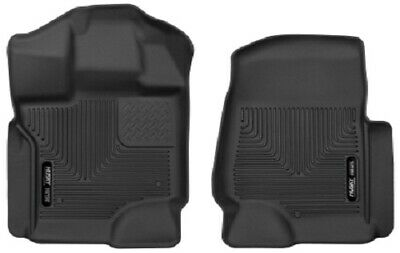 Husky Liners 15-17 Ford F-250 Super Duty  X-Act Contour Black Front Floor Liners