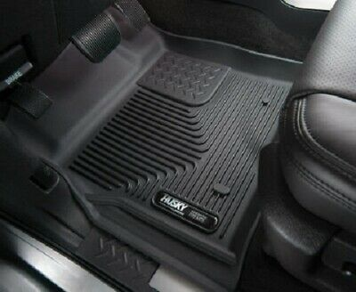 Husky Liners 16-18 Honda Civic X-Act Contour Black Floor Liners (2nd Seat)