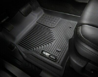Husky Liners 2017 Ford F250 Crew Cab Vinyl X-Act Contour Black Floor Liners