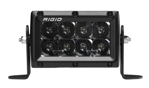 Rigid Industries 4in E Series Spot - Midnight Edition Part # 104213BLK