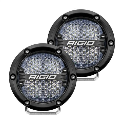 Rigid Industries 360-Series 4in LED Off-Road Diffused Beam - White Part # 36208