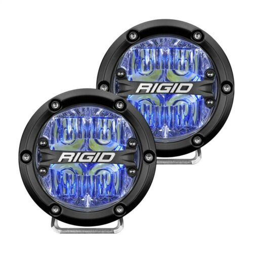 Rigid Industries 360-Series 4in LED Off-Road Drive Beam - Blue Part # 36119
