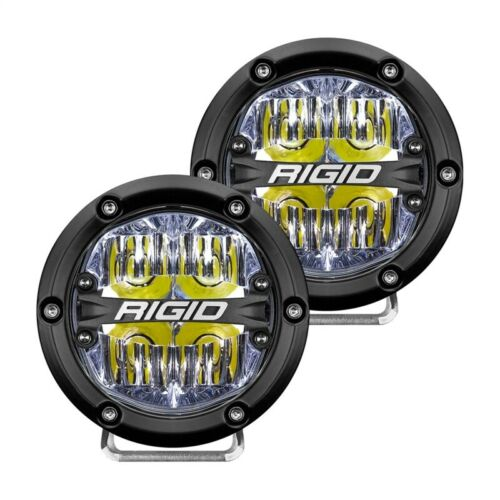 Rigid Industries 360-Series 4in LED Off-Road Drive Beam - White Part # 36117