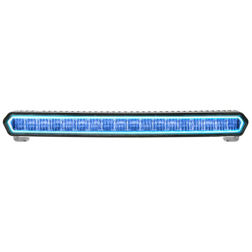 Rigid Industries SR-L 20in Off-Road LED Light Bar Black w/ Blue Part # 63001