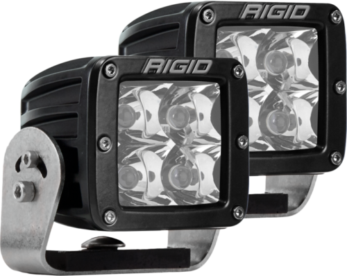 Rigid Industries Dually HD Black- Spot Set of 2 Part # 222213
