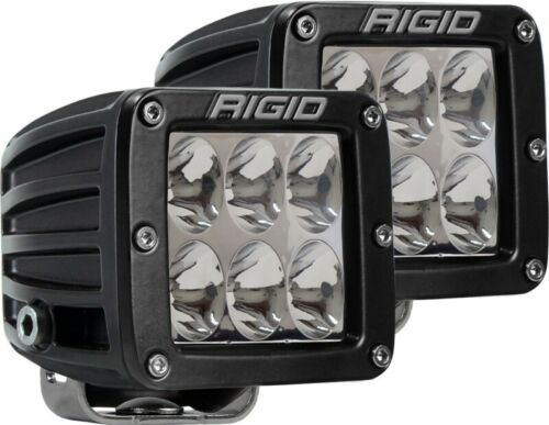 Rigid Industries D Series - Driving SM Amber (Pair) - 6 LEDs Part # 502323