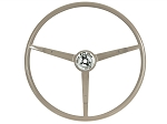 1965-1966 Mustang OE Series Steering Wheel - Parchment - Part# ST3034-P