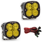 Baja Designs XL Pro Series Driving Combo Pattern Pair LED Light Pods - Amber