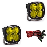 Baja Designs Squadron Sport Driving/Combo Pair LED Light Pods - Amber