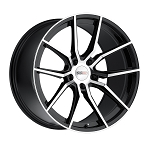 Cray Spider Wheels - Gloss Black w/Mirror Finish - Set of 4