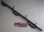 N-Fab Nerf Step 10-17 Dodge Ram 1500 Crew Cab 6.4ft Bed - Gloss Black - Bed Access - 3in